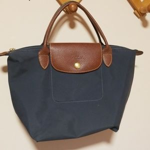 Longchamp graphite.nylon tote 1621089897